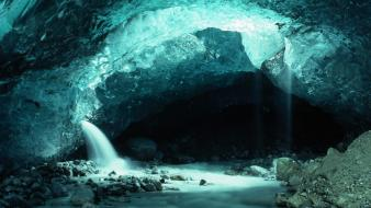 Alaska national park bay cavern caves wallpaper