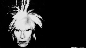 Andy warhol incase grayscale portraits wallpaper