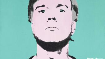 Andy warhol incase portraits wallpaper