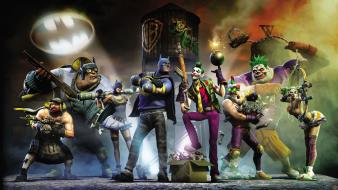 Batman gotham city impostors video games Wallpaper