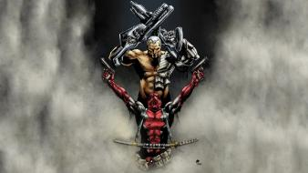 Character deadpool wade wilson marvel comics artwork Wallpaper