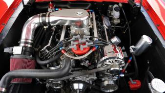 Classic ford shelby v8 engine engines muscle cars wallpaper