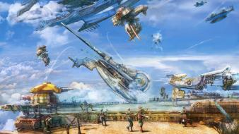 Final fantasy xii vaan airship vehicles wallpaper