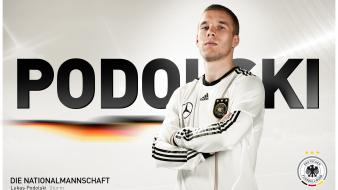 Germany national football team lukas podolski soccer wallpaper