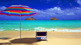 Hawaii oahu beaches oasis tropical Wallpaper