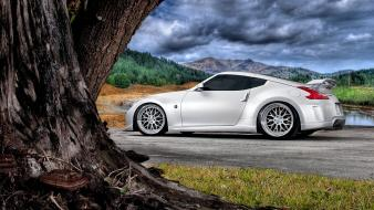 Hdr photography nissan 370z cars wallpaper