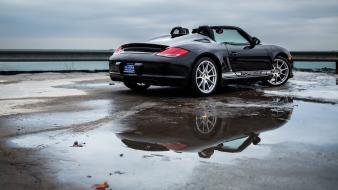 Lake michigan porsche boxster cars spyder wallpaper