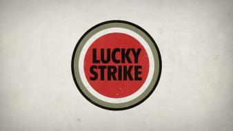 Lucky strike cigarettes tobacco wallpaper
