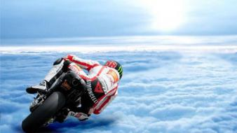 Marco simoncelli motorbikes paradise racing sports Wallpaper