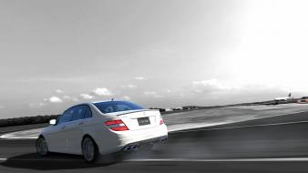 Mercedes c 63 amg playstation 3 cars wallpaper