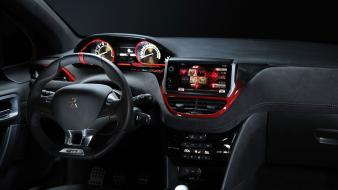 Peugeot 208 gti concept art dashboards wallpaper
