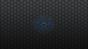 Abstract hexagons patterns wallpaper