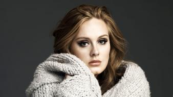Adele singer blondes celebrity simple background singers wallpaper