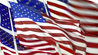 American flag flags stars stripes Wallpaper