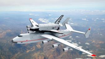 Antonov an225 buran shuttle mriya russians soviet wallpaper