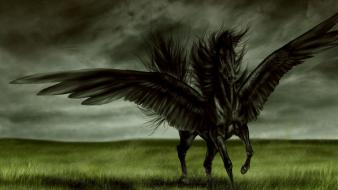 Artwork fantasy art horses pegasus wallpaper