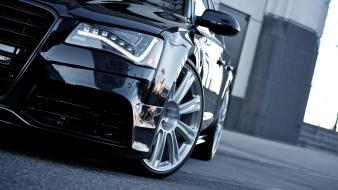 Audi a8 hybrid black cars coupe sports wallpaper