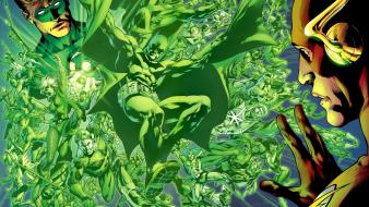 Batman dc comics flash superhero green lantern wallpaper
