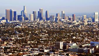 California los angeles buildings cityscapes wallpaper