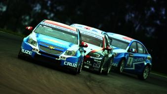 Chevrolet cruze bmw 320si races racing wtcc wallpaper