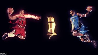 Chicago bulls nba orlando magic basketball versus wallpaper