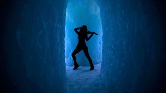 Crystallize lindsey stirling dubstep ice music wallpaper