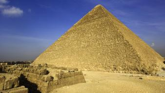 Egypt giza great pyramid of pyramids wallpaper