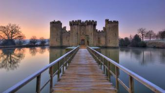 England bridges castle dawn wallpaper