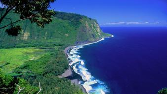 Hawaii islands valleys wallpaper