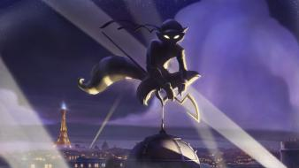 In time playstation sly cooper artwork video games wallpaper