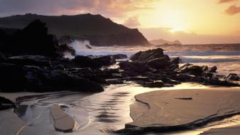Ireland beaches head wallpaper