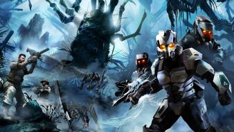 Killzone 3 soldiers video games wallpaper