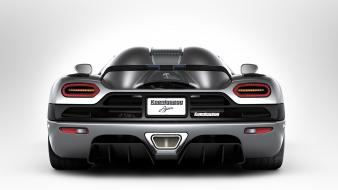 Koenigsegg agera back view cars vehicles wallpaper