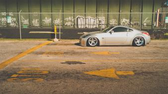 Nissan 350z cars stance tuning vehicles wallpaper