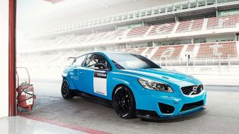 Polestar volvo c30 cars racing wtcc wallpaper