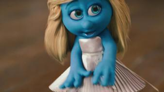 Smurfette the smurfs wallpaper