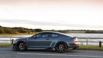 Bentley continental gt cars lakes roads vehicles Wallpaper