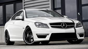 Benz c63 c 63 amg coupe front wallpaper