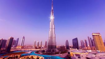 Burj khalifa dubai tower worlds Wallpaper