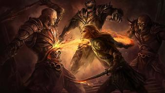 Dragon age zevran arainai fantasy art warriors wallpaper