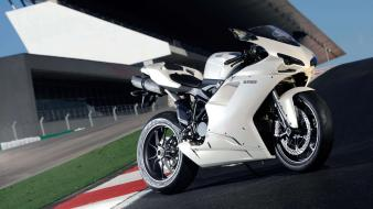 Ducati 1198 motorbikes race tracks superbike Wallpaper