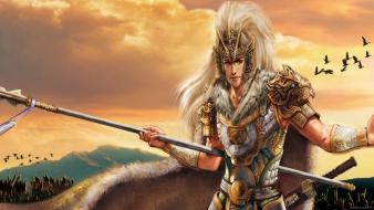 Dynasty warriors ma chao fantasy art video games wallpaper