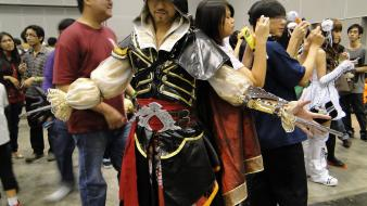 Ezio auditore da firenze cosplay wallpaper