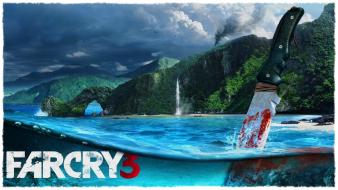 Far cry 3 beaches knives video games Wallpaper