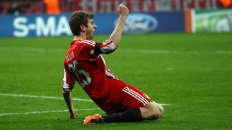 Fc bayern munich thomas müller soccer sports Wallpaper