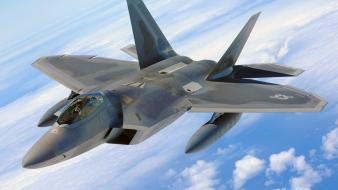 Fighter jets military raptor Wallpaper
