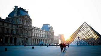 France louvre museum paris area artwork wallpaper