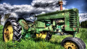 Hdr photography john deere tractors wallpaper