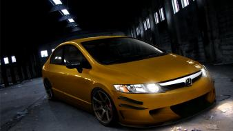 Honda civic si cars tuning wallpaper