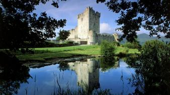 Ireland national park ross castle architecture castles wallpaper